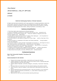 8 dental assisting resume templates letter signature