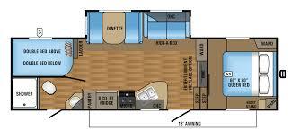 jay flight trailers floor plans 2017 eagle ht fifth wheel floorplans u0026 prices jayco inc