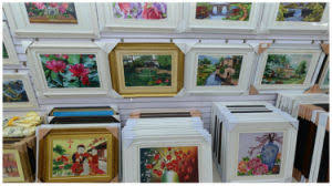 Home Decorations Wholesale China Rich Kinds Picture Frame Art Painting Wall Home Decor