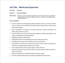 Supervisor Job Description Job Description Job Title Nursing - Dining room supervisor job description