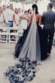 black and white wedding dresses 25 black wedding dresses