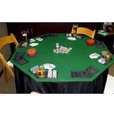 Texas Holdem Table by Folding Poker Table Top Deluxe Texas Holdem Blackjack Casino Chips