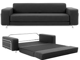 Narrow Leather Sofa Lovable Narrow Sofa Bed With Small Black Leather Black