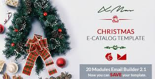 xmas email template online emailbuilder 2 1 by web4pro themeforest