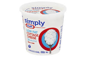 Cottage Cheese Low Fat by Simply Kraft Small Curd 2 Milkfat Low Fat Cottage Cheese 24 Oz