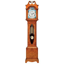 yew scroll top grandfather clock grandfather clocks clocks