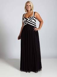 black and white plus size semi formal dresses darius cordell