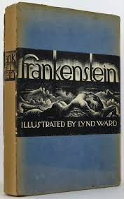 frankenstein mary shelley first thus signed lynd ward 1934 15 full