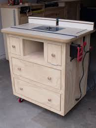 Free Diy Table Plans by Ana White Patrick U0027s Router Table Plans Diy Projects