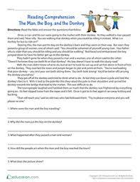 3rd grade comprehension worksheets u0026 free printables education com