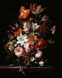 Flowers In Detroit - flowers in a glass vase c1704 so real you u0027d think the butterfly