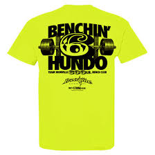 600 pound bench press club t shirt ironville clothing
