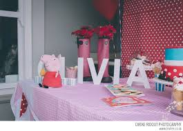 peppa pig decorations peppa pig party by carike ridout photography lovilee