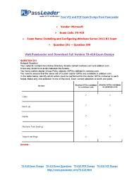 70 410 exam dumps with pdf and vce download 251 300 by