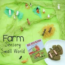 The Big Red Barn Book Big Red Barn Sensory Small World Still Playing