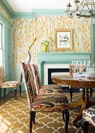 Wallpaper Designs For Dining Room Robin U0027s Egg Blue Color And Design Ideas Hgtv