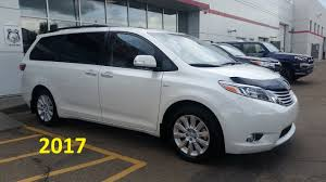 toyota 2017 usa 2017 toyota sienna limited premium awd detailed feature review and