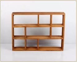 wood shelf 3 layers wooden storage box desktop storage rack