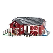 Free Wooden Toy Barn Plans by Schleich Farm Animals Toys