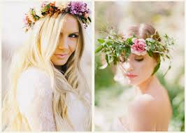 flower hair crowns of flowers for your hair strictly weddings