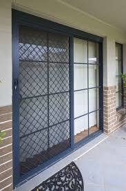 Patio Door Security Gate For Residential Applications Morley Roller Shutters Security Doors And Fly Screen Gss