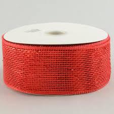 deco mesh ribbon 2 5 poly mesh ribbon metallic rs200424 mardigrasoutlet
