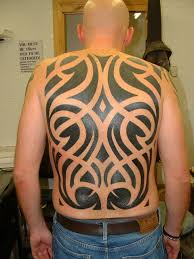 indian tribal tattoo on upper back photo 9 2017 real photo