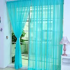 new decorative colorful floral curtain tulle voile curtains door