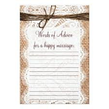 Marriage Advice Cards For Wedding Marriage Advice Cards Invitations Greeting U0026 Photo Cards Zazzle