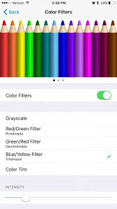 Blue Yellow Color Blind Color Blind How To Correct Your Iphone U0027s Colors For Your Vision