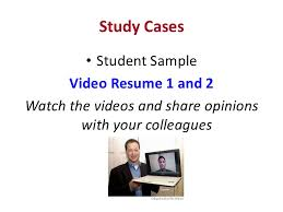 Sample Video Resume by Video Resumes In Teaching English