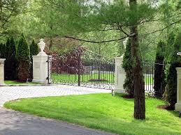 custom designed driveway gates tri state gate