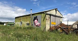 Prestige Golf Flags Trump U0027s Scotland Golf Course Neighbors Decry A Bully Trying To Expand