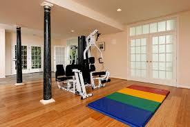 Home Gym Decor Ideas Interior Extraordinary Home Gym Room Ideas Near Tall Black