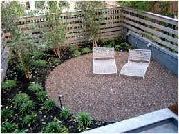 Backyard Patio Ideas by Backyards Gorgeous Gravel Backyard Gravel Landscape Designs