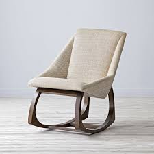 Stylish Rocking Chair Crate And Barrel Wooden Rocking Chair Home Chair Decoration