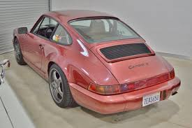 1990 porsche 911 red 1989 porsche 911 carrera 4 964 c4 coupe real muscle exotic
