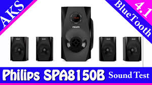 philips home theater philips home theatre spa8150b 4849 4 1sound test by aks use