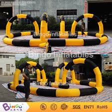 Outdoor Inflatables Free Delivery Outdoor 8m Inflatables Air Kart Track Barriers