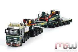 volvo lorry models model wsi volvo fh 8x4 windmill transporter 1 50
