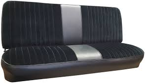 Ford Truck Upholstery 1967 72 Ford Truck Vinyl U0026 Cloth Bench Seat Cover 2inch Pleats