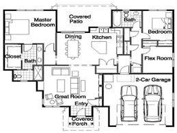 Impressive Design Rambler Floor Plans Walkout Rambler Floor Plans Esprit Home Plan