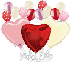 heart balloon bouquet hearts balloon bouquet jeckaroonie balloons