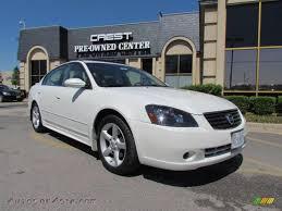 Nissan Altima White - 2006 nissan altima 3 5 se in satin white pearl 411475 autos of