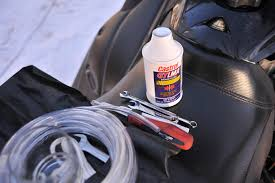 how to change your sled u0027s brake fluid and why you should