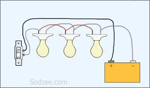 simple lighting circuit wiring diagram efcaviation com