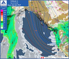 California Weather Map Avalanche Canada