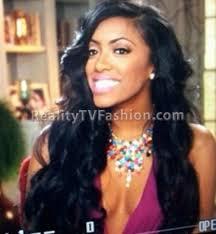 what type of hair does porsha stewart wear porsha stewart s multi colored anna ava scarlett statement