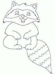 free raccoon coloring pages coloring