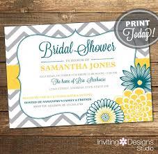 wedding shower invitation bridal shower invitation chevron